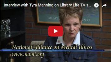 Tyra Manning Interviewed on Mount Prospect, Illinois, Library Life Television Program