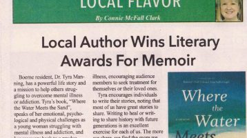 Local Author Wins Literary Awards for Merit