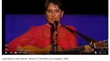 Musical Memories: Blowin' in the Wind